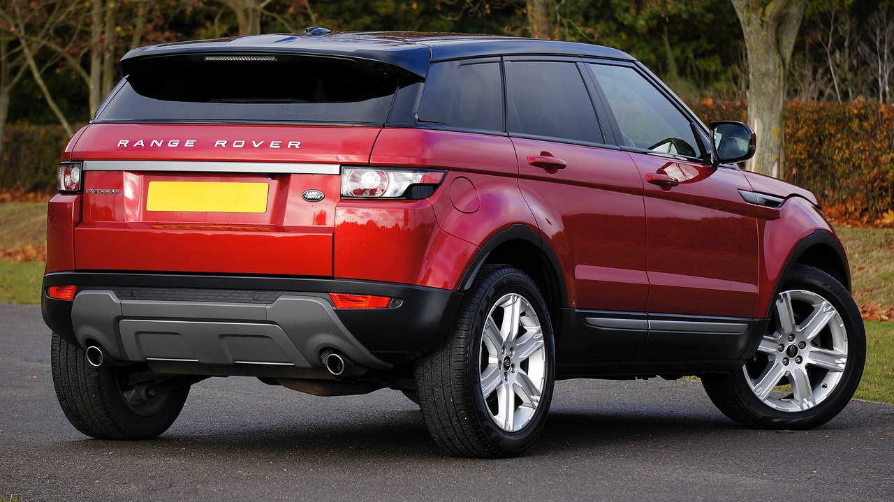 Red Range Rover